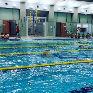 中央区小学校水泳記録会